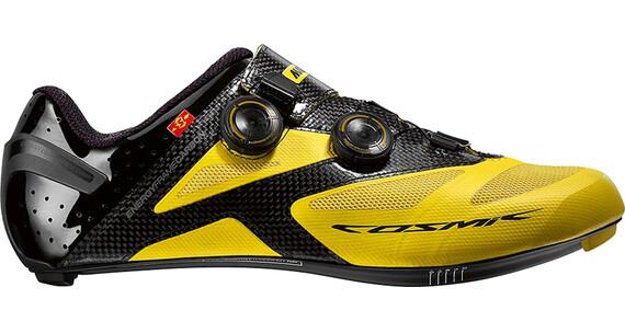 Mavic Cosmic Ultimate II Miehet kengät , keltainen/musta